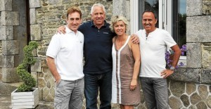 Greg Lemond et Sean Kelly ont dormi à Pluméliau !