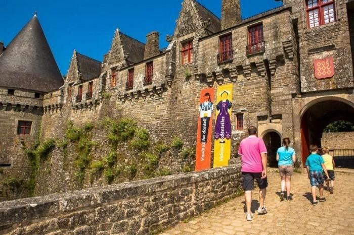 chateau de pontivy morbihan