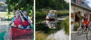 Parcourir le canal de Nantes à Brest – Pontivy tourisme