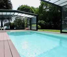 piscine gite chambre hotes plumeliau au domaine des camelias