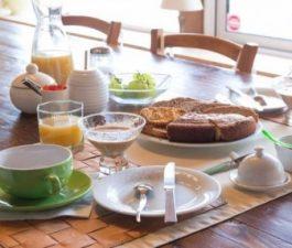 petit déjeuner au domaine des camelias